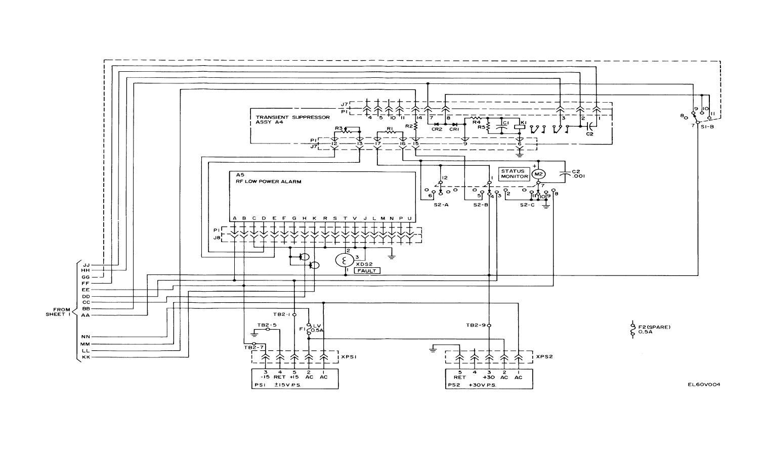Figure Fo 2 2 Amplifier Mixer Schematic Diagram Sheet