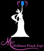 Miss Alabama Black Logo