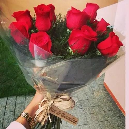 Mensagem De Boa Tarde Com Flores Vermelhas Earlyyearwallpaper