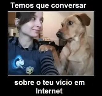 Cachorro apaixonado