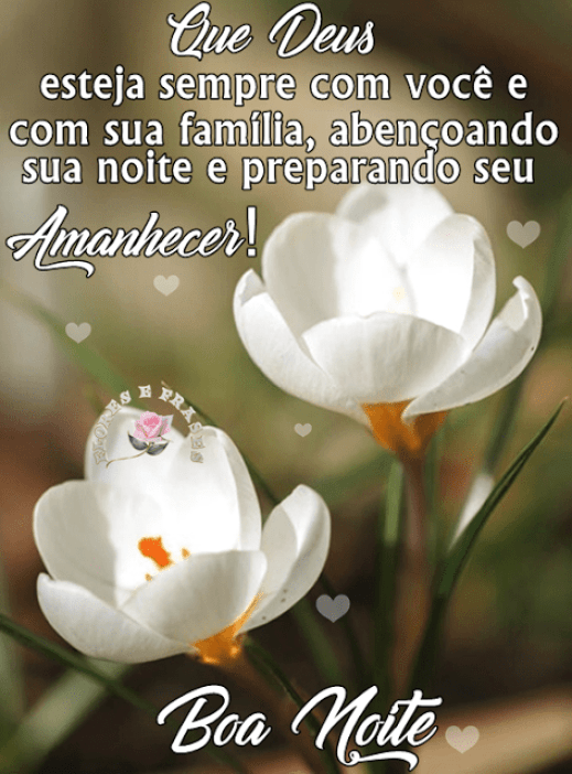 Deus esteja sempre com você!