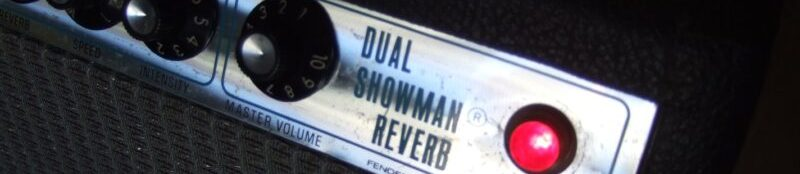 Fender Dual Showman Restoration