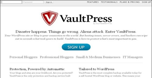 Vaultpress-wordpress-plugin