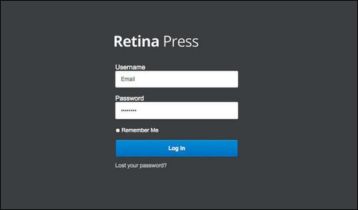 retina press