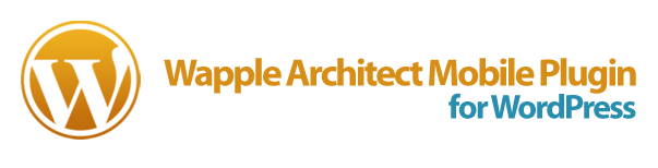 Wapple Architect Mobile Plugin for WordPress