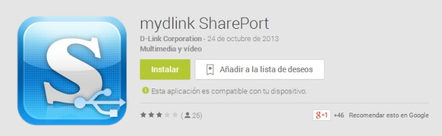 mydlink shareport