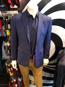 Blazer con pantalón casual