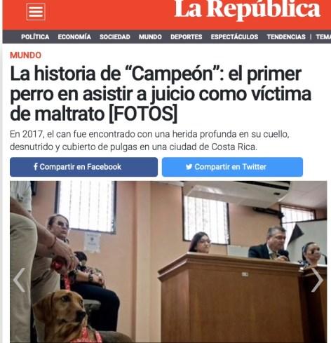 Campeón- La República Perú