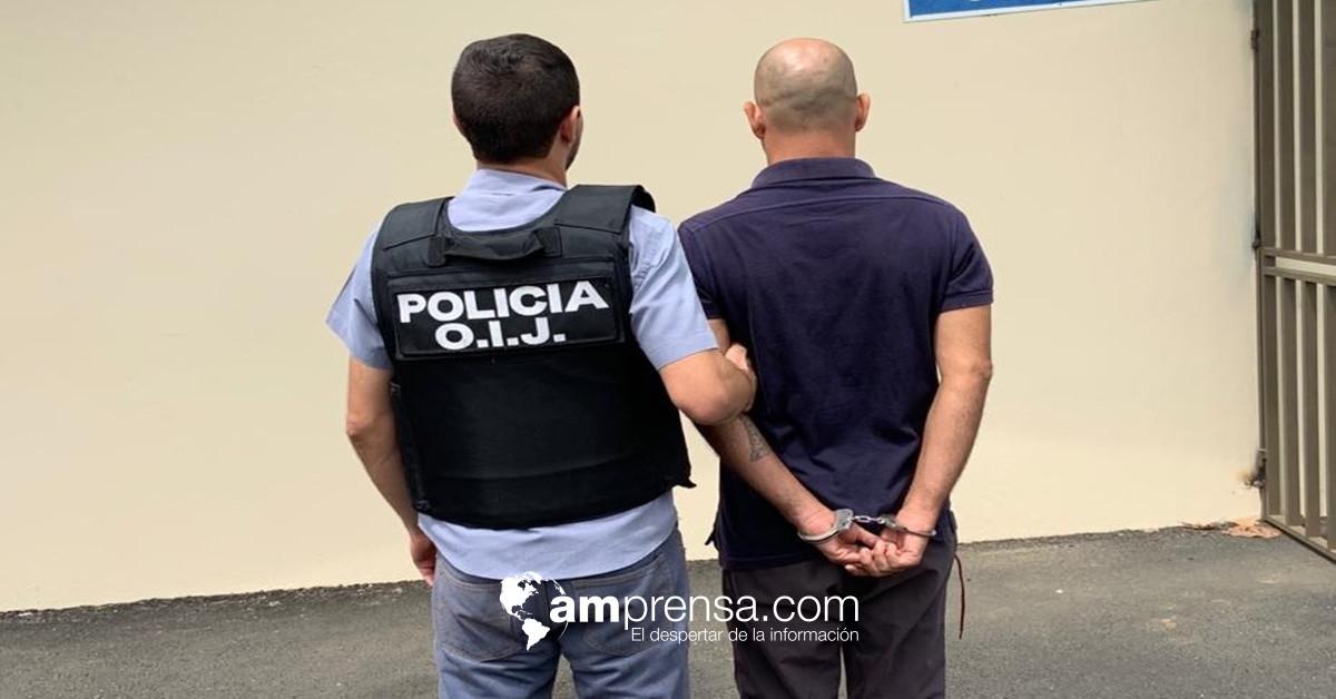 Tras identificación de testigos, detienen sospechoso de asesinar hombre en Golfito - amprensa.com