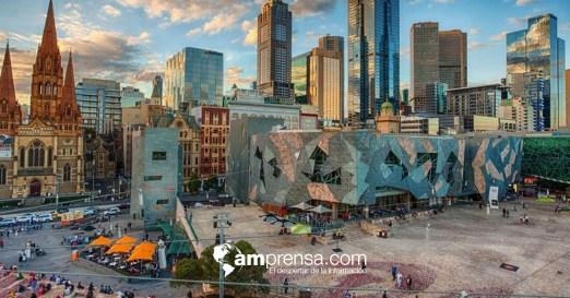 Federation Square es un lugar para eventos artísticos, culturales y públicos en el límite del distrito central de negocios de Melbourne.