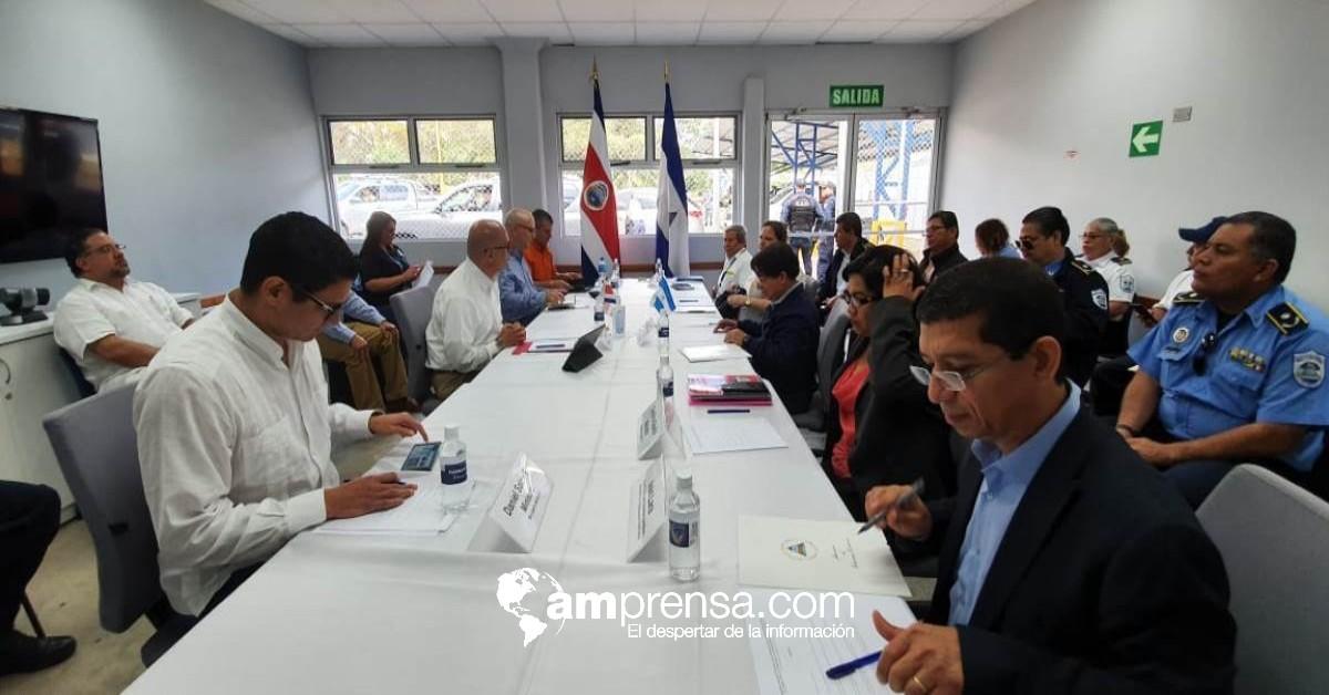 Costa Rica y Nicaragua buscan acciones conjuntas contra el Covid-19