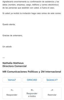 correo MR Comunicaciones