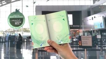 Parte interna del pasaporte