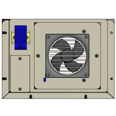 exhaust fan filter 110 cfm 115v ac