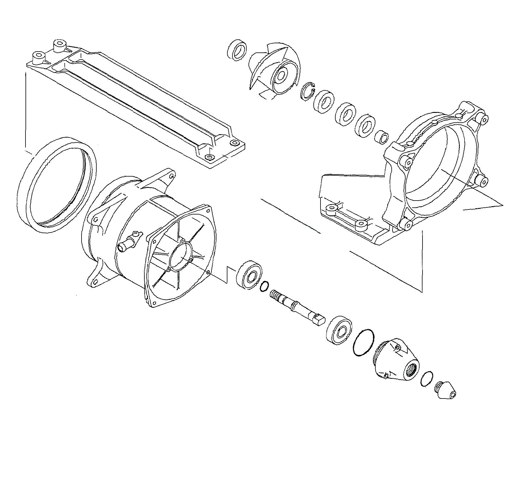 Kit Reparation De Turbine Wsm Kawasaki Stx 15f