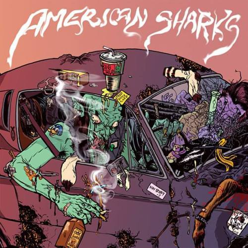 AMERICAN SHARKS CD COVER