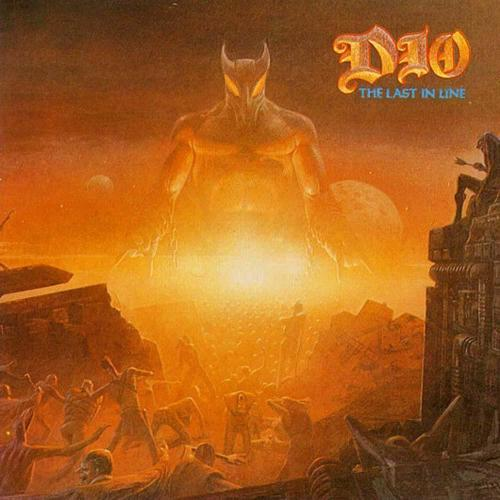 DIO LAST IN LINE cover