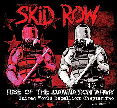 SKID ROW 2014 CD COVER