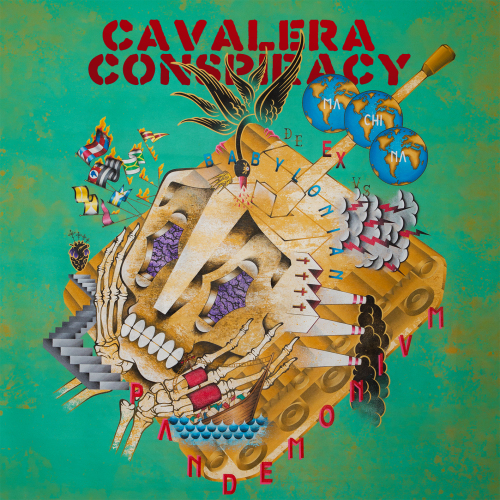 CAVALERA CONSPIRACY ARTWORK