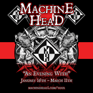 MACHINE HEAD TOUR POSTER 1