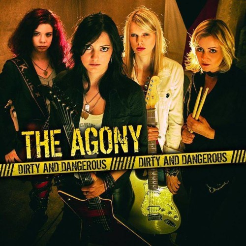 THE AGONY CD COVER