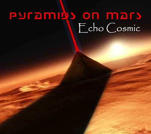 PYRAMIDS ON MARS COVER