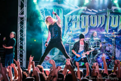 DragonForce: Reaching Into Infinity At Gas Monkey Bar N'Grill - Dallas, TX 7/12/17