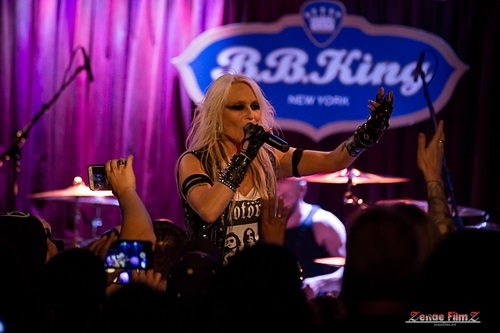 DORO: The Metal Queen Celebrates 30 Years Of Triumph And Agony In NYC!! - B.B. King Blues Club and Grill 9/10/17