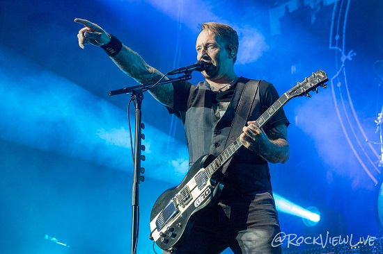 VOLBEAT LIVE 6 - Amps and Green Screens