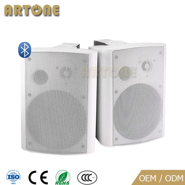 wireless bluetooth patio stereo wall mount powered active artone speaker system 100w bs 1604a