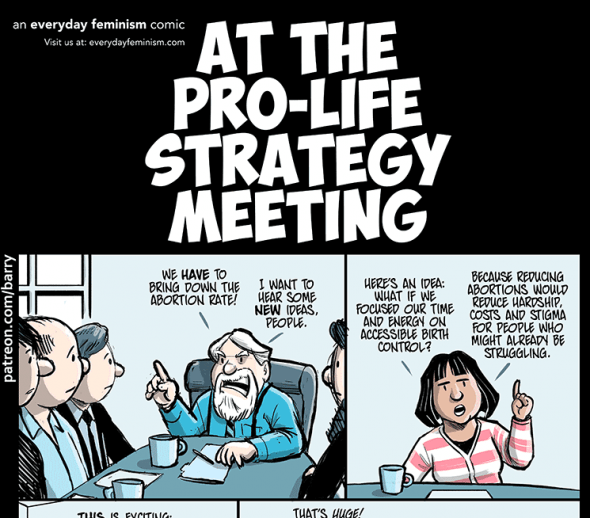 Cartoon At The Pro Life Strategy Meeting Alas A Blog