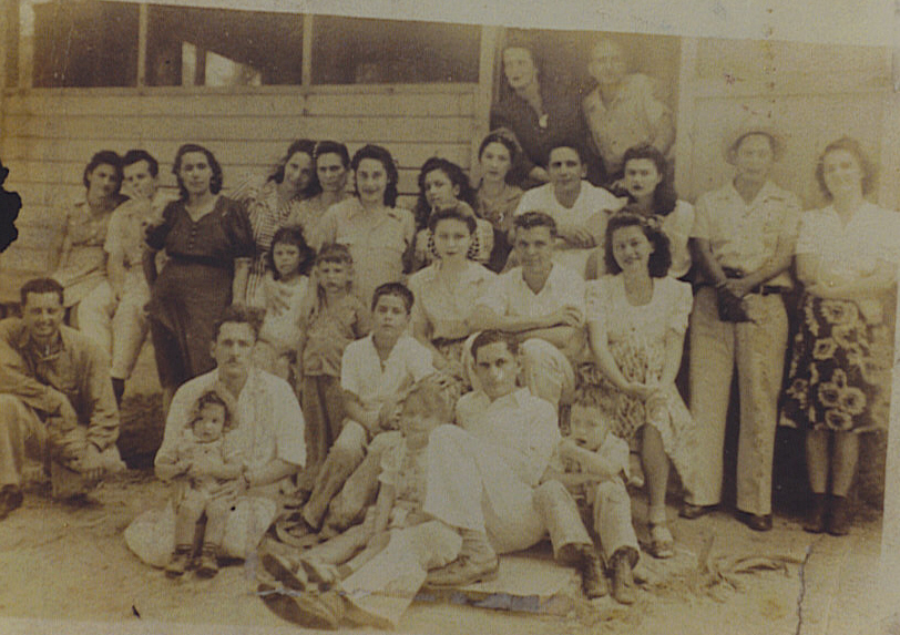 Personas de campo Rojo años 40