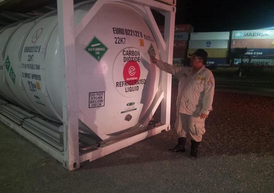 El Comité de Emergencia Municipal hace las diligencias investigativas sobre FUGA de GAS en la terminal de OPC.