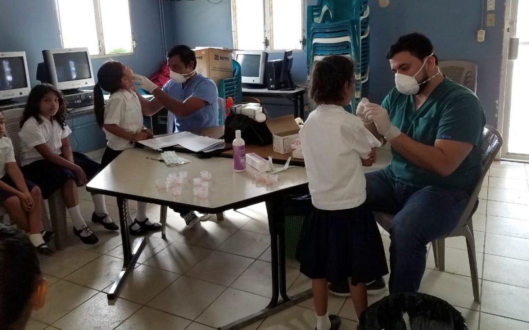 Con 128 evaluaciones odontológicas concluimos en la Escuela Zacarias Álvaro Mena.