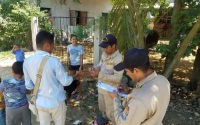 Cuerpo de Bomberos Municipal al servicio de la población.