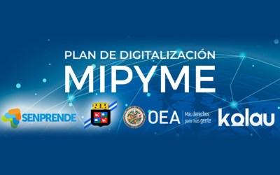 Nos unimos al Plan de Digitalización de Mipymes.