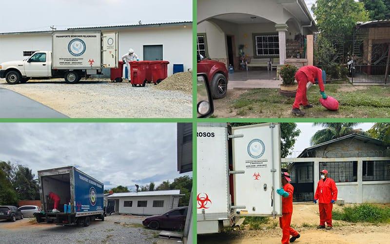 En tres meses atendiendo la Pandemia, hemos recolectado 6,300 kilos de desechos médicos.