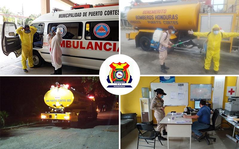 Cuerpo de Bomberos al servicio de la Población Porteña.
