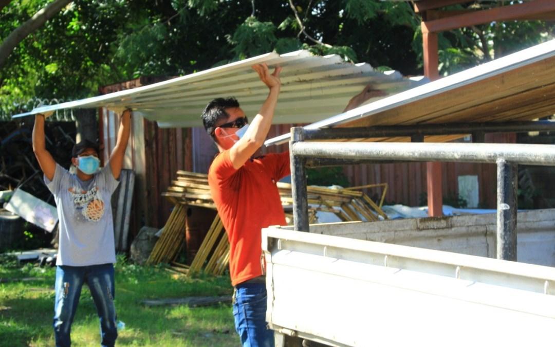 Reactivamos el Programa de Ayuda de Materiales para Construcción.