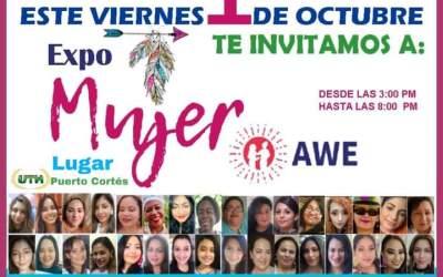 Gran Expo feria Mujer, Viernes 1 de Octubre en el estacionamiento de UTH.