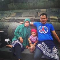 Borobudur mom