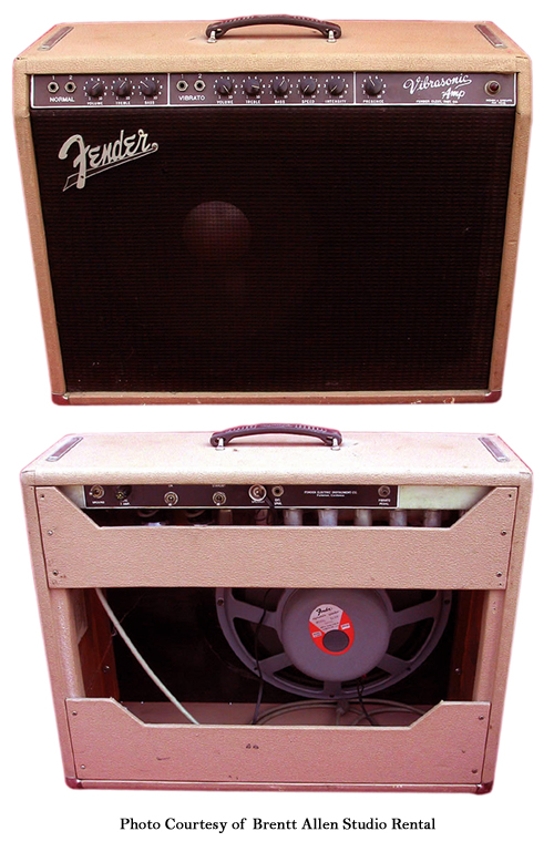 Fender Brownface Vibrasonic Ampwares
