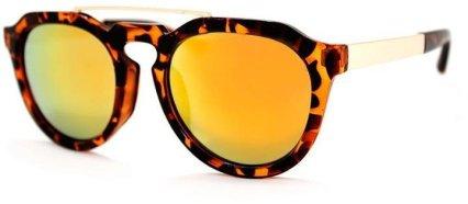 A J Morgan Tortoise Mirror Sunglasses