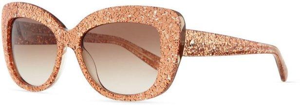 Kate Spade Ursula Glitter Cat Eye Sunglasses