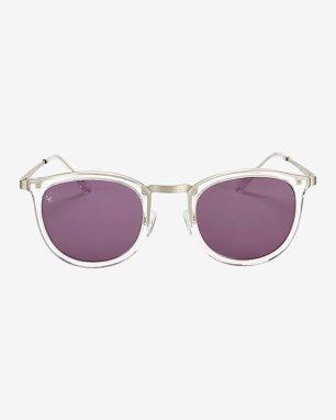 Smoke X Mirrors Shout Clear Sunglasses