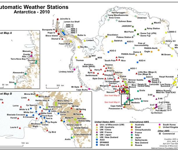 AWS 2010 Map
