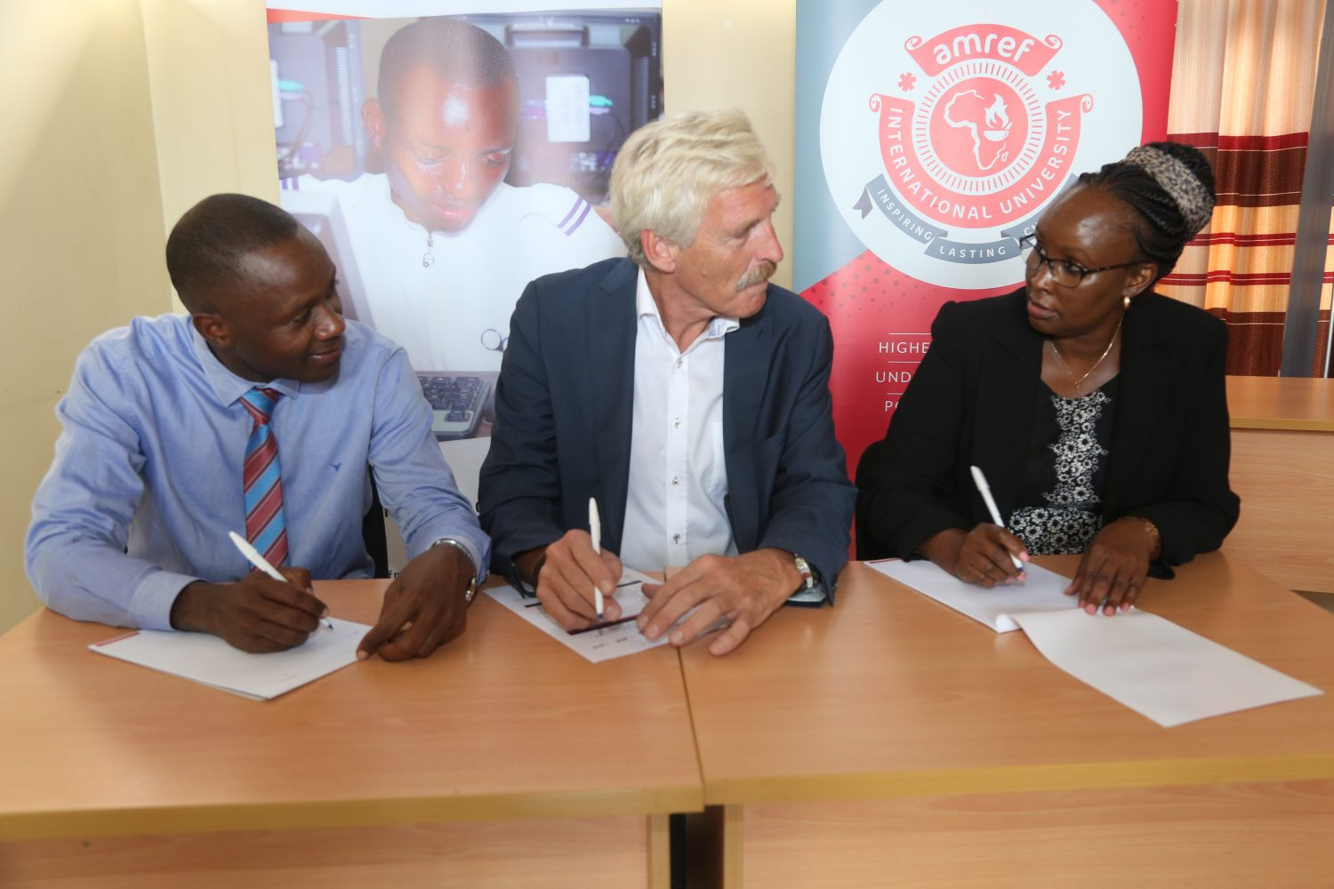Amref University Signs Partnerships To Enhance Capacity In The Health Sector