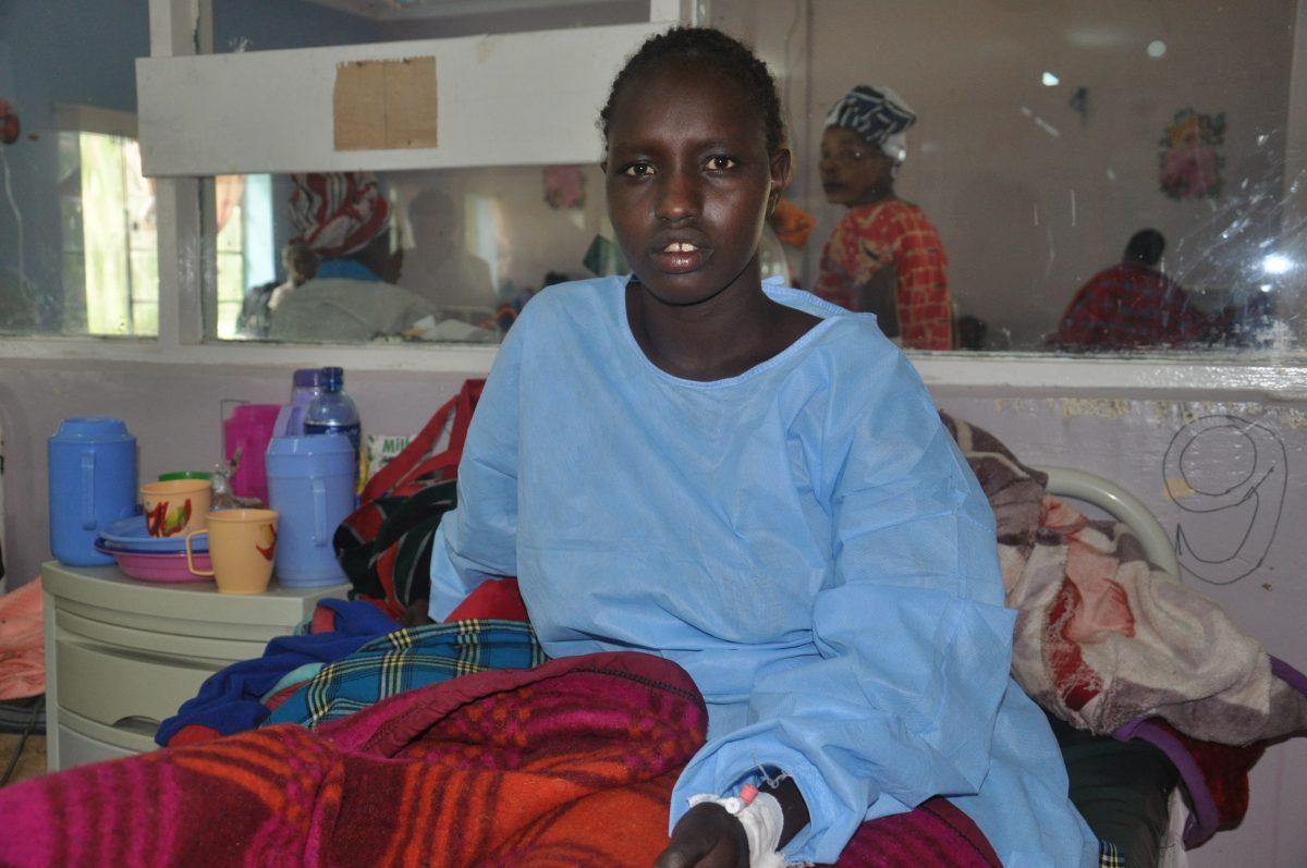 Nalotuesha at the ward