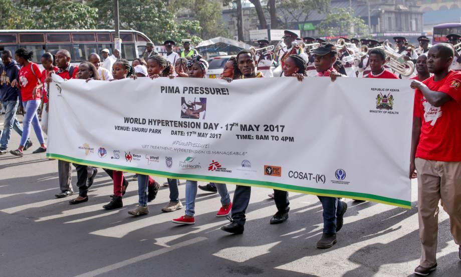 Marking the 2017 World Hypertension Day