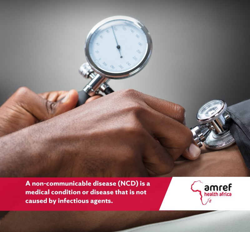 Non-communicable diseases (NCDs) are medical conditions that are not caused by infectious agents